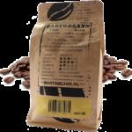 Bartsbeans – bourbon 500 gram – transparant achterkant