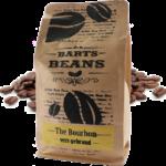 Bartsbeans – bourbon 500 gram – transparant voorkant