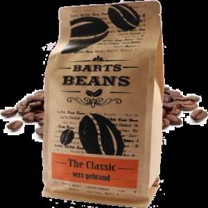 Bartsbeans - the classic 500 gram - transparant voorkant
